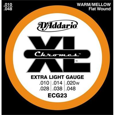 D'Addario ECG23 010-048 Extra Light Gauge electric guitar strings