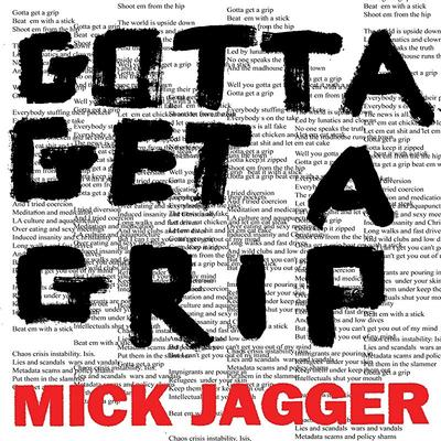"Mick Jagger - Gotta Get A Grip (12"" maxi single)"