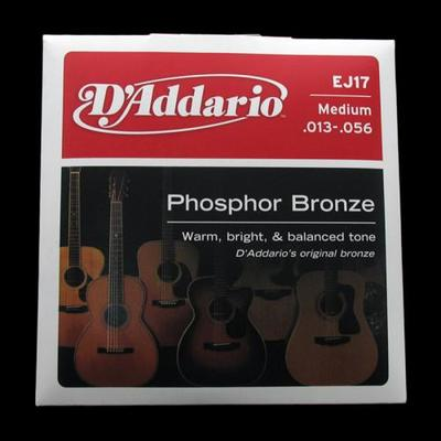 D'Addario EJ17 013-056 Phosphor Bronze Medium acoustic guitar strings