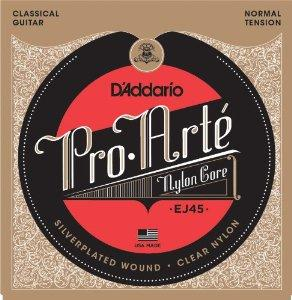 D'Addario Pro-Arté EJ45 028-043 Nylon Core classical guitar strings