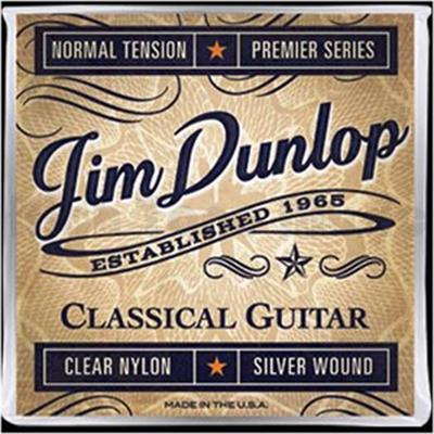 Jim Dunlop DPV101 Clear Nylon Normal Tension Premier Series classical guitar strings