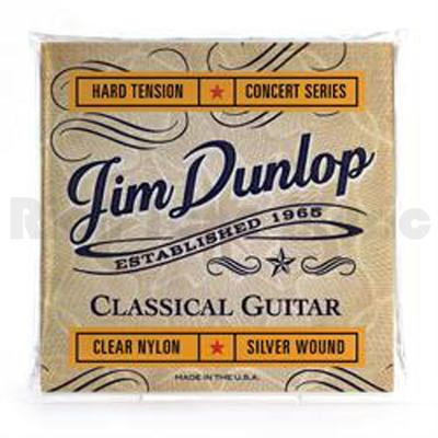 Jim Dunlop DCV121H Clear Nylon Hard Tension Concert Series classical guitar strings