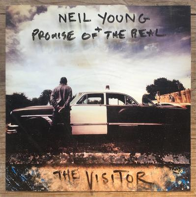 Neil Young + Promise Of The Real - The Visitor (2LP) (UDSOLGT)
