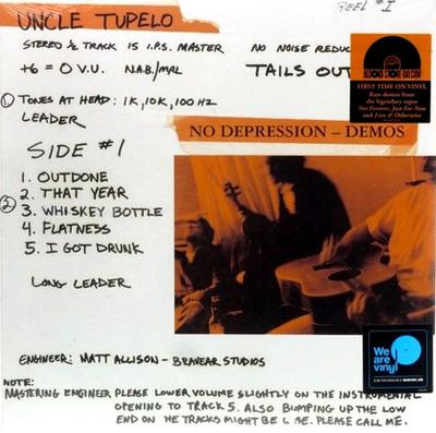 Uncle Tupelo - No Depression Demos (RSD 2018)