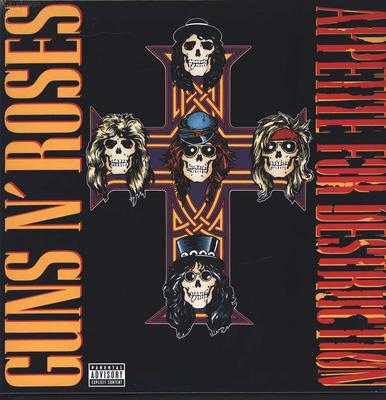 Guns N'Roses - Appetite For Destruction