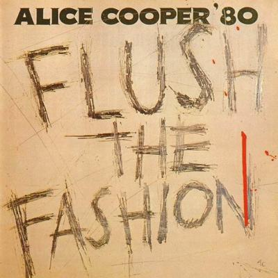 Alice Cooper - Flush The Fashion (Farvet vinyl)
