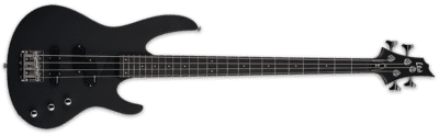 LTD B-10 Bass Black Satin + Gigbag