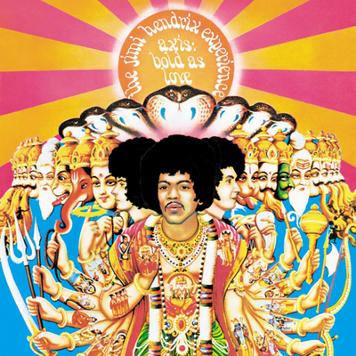 Jimi Hendrix - Axis: Bold As Love (UDSOLGT)
