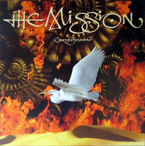 The Mission - Carved In Sand (Farvet vinyl)