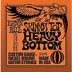 Ernie Ball Skinny Top Heavy Bottom 010-052 nickel wound electric guitar strings