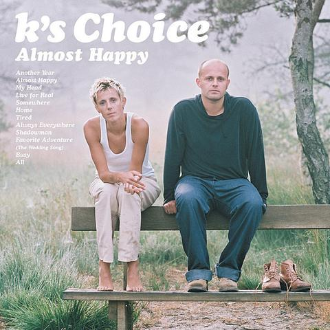 K's Choice - Almost Happy (Farvet vinyl)