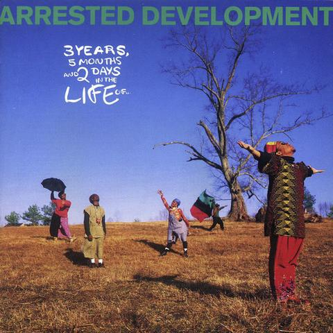 Arrested Development - 3 Years, 5 Months And 2 Days In The Life Of... (Farvet vinyl) (Udsolgt)