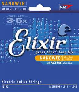 Elixir Medium 011-049 electric guitar strings