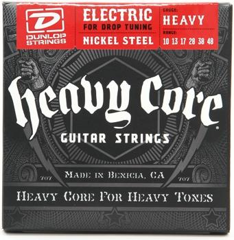 Dunlop Heavy Core 010-048 electric guitar strings