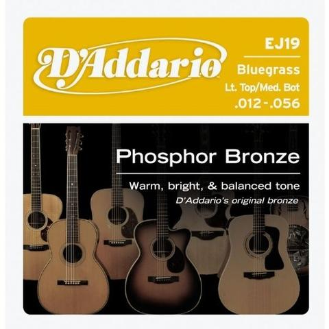 D'Addario EJ19 012-056 Phosphor Bronze Bluegrass acoustic guitar strings