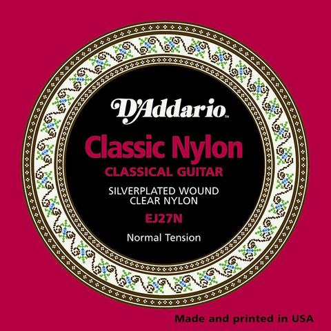 D'Addario EJ27N 028-043 Classic Nylon classical guitar strings