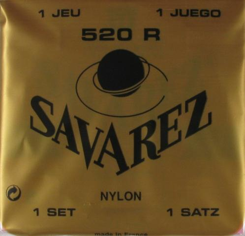 Savarez 520R Nylon classical guitar strings
