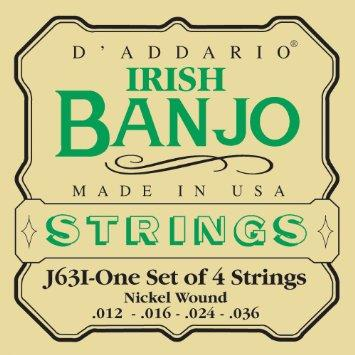 D'Addario J63I 012-036 Irish Banjo Strings