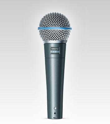 Shure Beta 58A vocal mikrofon
