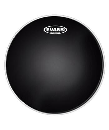 "Evans Black Chrome 14"" trommeskind"