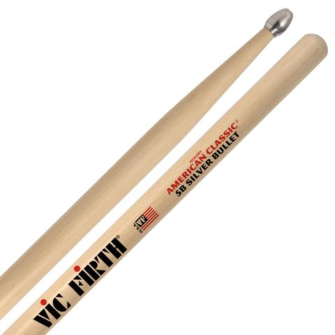 Vic Firth 5B American Classic Hickory - Silver Bullet