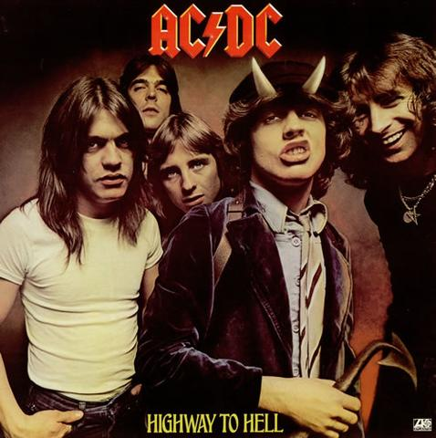 AC/DC - Highway To Hell (UDSOLGT)