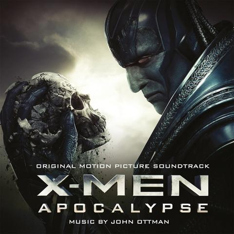 Soundtrack (John Ottman) - X-Men: Apocalypse (2LP - farvet vinyl)