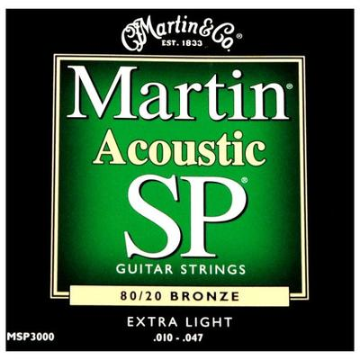 Martin Acoustic SP 010-047 Bronze Extra Light guitar strings