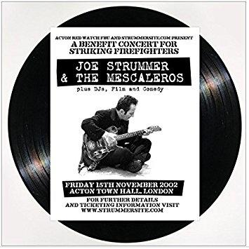 Joe Strummer & The Mescaleros - Friday 15th November 2002 Acton Town Hall, London (2LP)