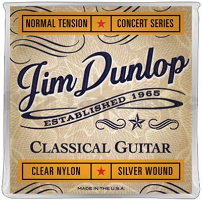 Jim Dunlop DCV120 Clear Nylon Normal Tension Concert Series classical guitar strings