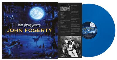 John Fogerty - Blue Moon Swamp (Blå vinyl)