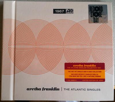 "Aretha Franklin ‎– The Atlantic Singles 1967 (7"" BOX, RSD 2019)"