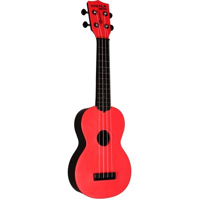 Makala Waterman Soprano Ukulele - Tomato Red